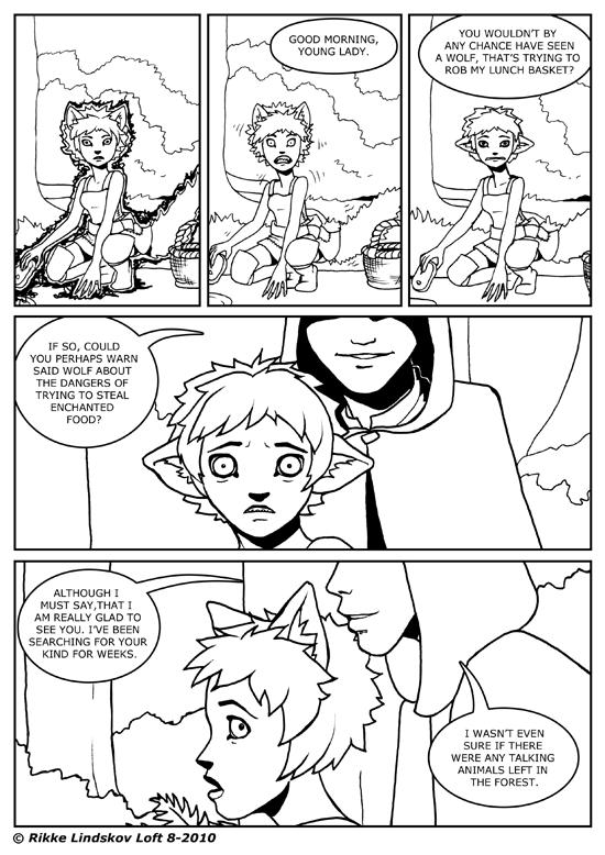 Little Grey Wolf Girl 04