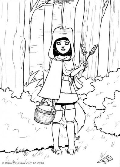 Little Enchanted Wolfgirl