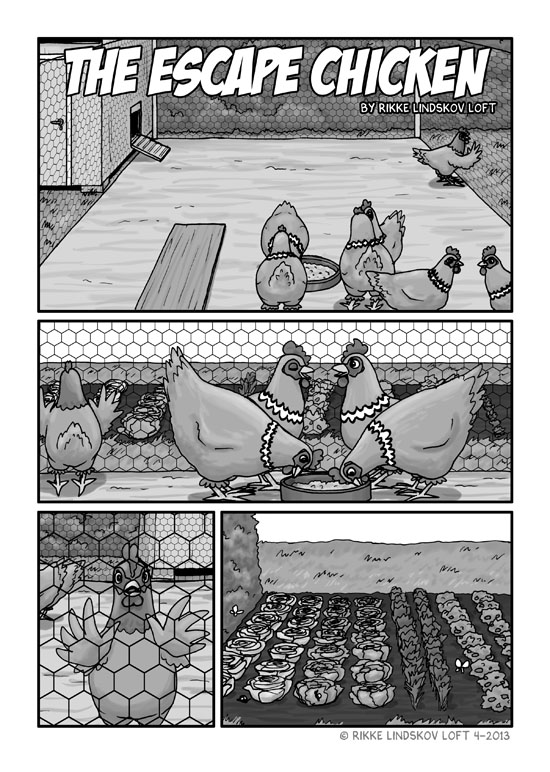The Escape Chicken Page 1