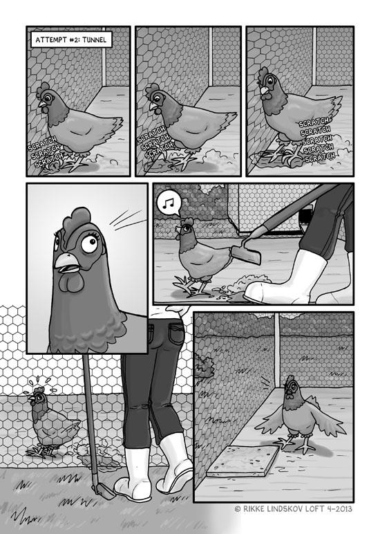 The Escape Chicken Page 4