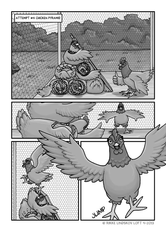 The Escape Chicken Page 6