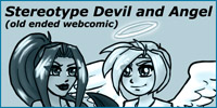 Stereotype Devil and Angel