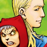 Little Grey Wolfgirl and Red Riding Hood