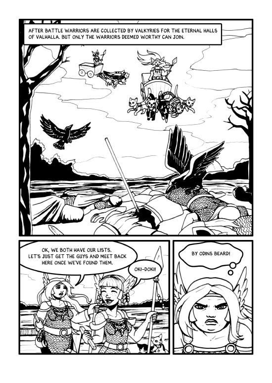 The Chosen Ones - Page 1